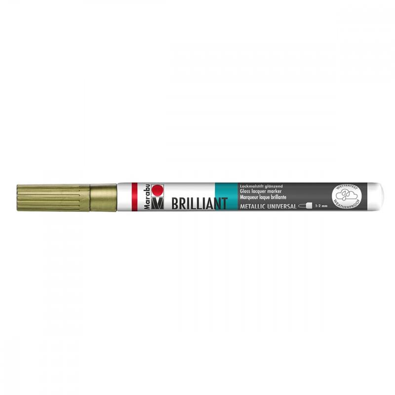 BRILLIANT PAINTER 1-2MM ZLAT