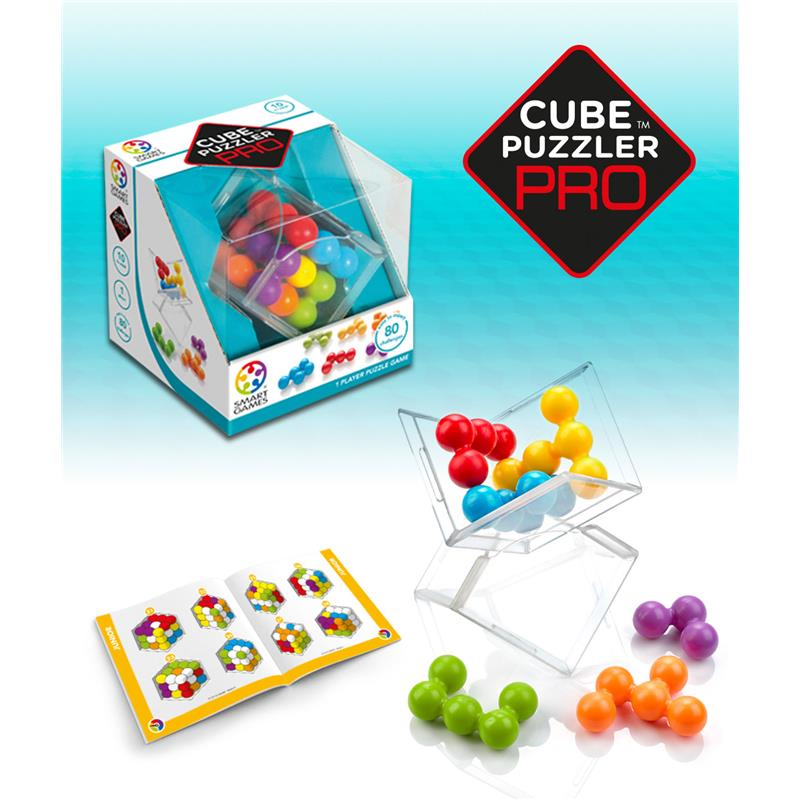 SMART GAMES CUBE PUZZLER PRO 80