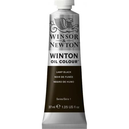 WINTON OLJE 37ML 337 LAMP BLACK