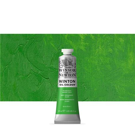 WINTON OLJE 37ML 483 PERM. GREEN LIGHT