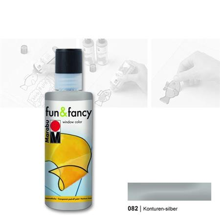 FUN.FANCY KONTURA 80ML 082 SREBRNA