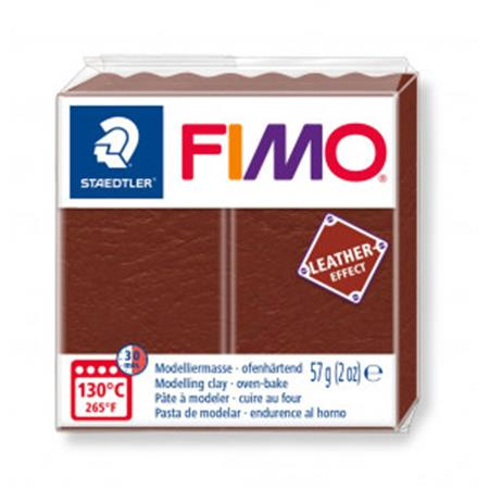 FIMO LEATHER OREHOVO RJAVA 779