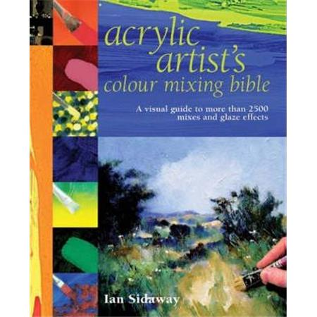 KNJIGA ACRYLIC COLOR MIX BIBLE