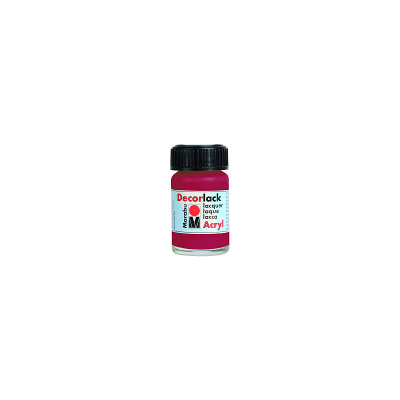 DECORLACK ACRYL 15ML KARMIN 32