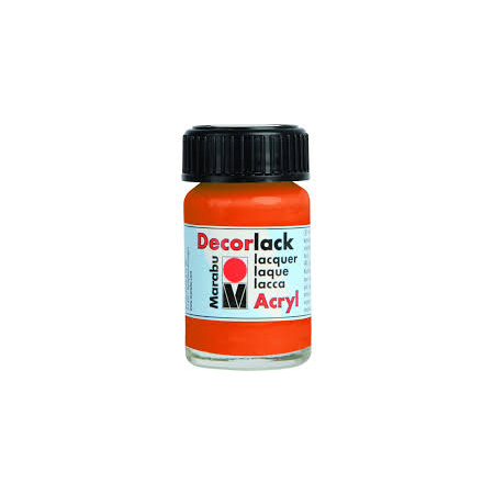 DECORLACK ACRYL 15ML ORANŽNA 13