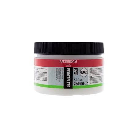 AMSTERDAM GEL MEDIUM GLOSS 25ML