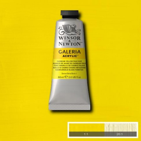 GALERIA 60ML CADMIUM YELLOW PALE HUE