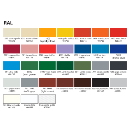 SPREJ COLORS 400ML RAL2004